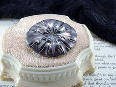 Vintage Dutch Sterling Silver Modernist Brooch Pin by garnetcross, $60.00