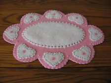 Penny Rug Candle Mat
