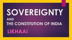 Sovereign - possessing supreme or ultimate power. Sovereign Meaning, Electronic Dictionary, Constitution, Meant To Be, India, Supreme, Youtube, Reading, Bill Of Rights