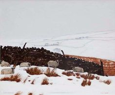 Sheep Know When There's More Snow Coming - Peter  Brook