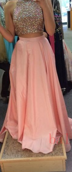 #pink #satin #prom #party #evening #dress #dresses #gowns #cocktaildress…