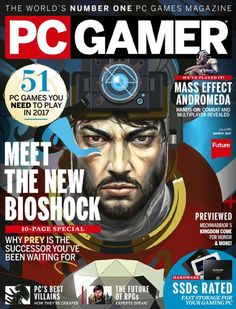 Buy PC Gamer Magazine Subscription | Buy at Magazine Café - Single Issue & Subscription Specialist in USA #art #photography #game #graphics