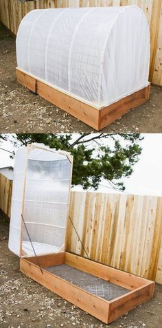 Uma solução com tampa removível para proteger suas plantas.