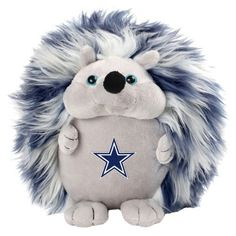 Keep things fun and fuzzy with the NFL Fluffy Hedgehog by Forever Collectibles. Your new cuddly friend will always be there to support your team. This fluffy hedgehog features a team color body and the team logo embroidered on the chest. Measures 8 tall.