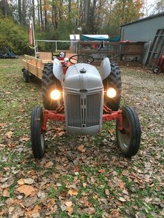 1950s ford tractor ford tractors equipment pinterest ford added headlights to my ford 8n fandeluxe Gallery