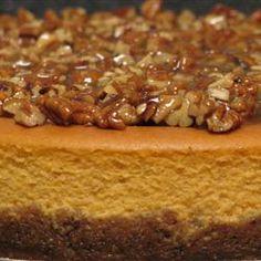Sweet Potato Cheesecake!! Oh my Lord!!!