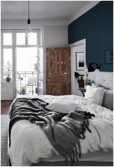 If not the guest room blue the the bedroom!