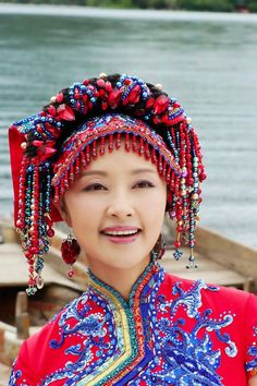 Chinese minority beauty. You can meet numerous ethnic minorities of China durng your trip in the Southwestern of China.