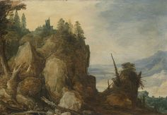 Category:Paintings by Joos de Momper (II) Mountain Landscape, Mountain View, Fine Art Prints, Canvas Prints, Peter Paul Rubens, Mountain Paintings, Canvas Paper, Old Master, Baroque