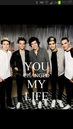 It's true<3 I really mean it! I would not be her If it was not for you 5 boys! Thank you so much! LOVE YOU Soooo MUCH!~Adele