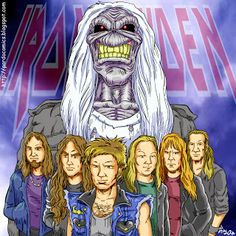 PARDO: Caricaturas y Cómics personalizados: IRON MAIDEN Brave New World