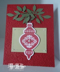 Ornament Keepsakes by nyingrid - Cards and Paper Crafts at Splitcoaststampers