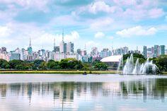 """Com certeza é o parque mais famoso da cidade de #SãoPaulo e o mais importante da cidade. O Parque do Ibirapuera ou """"Ibira"""", como muitos paulistanos o chamam, foi inauguro em 1954 para a comemoração do quarto centenário da cidade. http://www.bestday.com.br/Sao-Paulo-Brasil/ReservaHoteis/"""