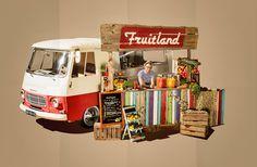 Line-up*Nr.26 Fruitland met heerlijke en gezonde sapjes, smoothies, frozen yoghurt en fruit in chocolade!