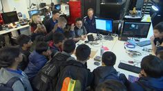 Shot on location at Microsoft Headquarters in Redmond, Washington, the Jr. High AMSE ISS Team from Valley Christian School, rendezvoused with counterparts at Microsoft…