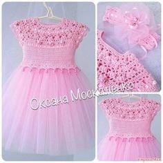"""Платья для принцесс (для вдохновения) [ """"st.stranamam.ru data cache 09 15"""" ] # # #Crochet #Tutu, # #Vestido #Crochet, # #Crochet #Dresses, # #Safe, # #Baby, # #Adelita, # #Eyes, # #Album, # #Knit #Dresses"""