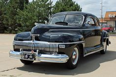 1942 DeSoto Custom Club Coupe  Maintenance/restoration of old/vintage vehicles: the material for new cogs/casters/gears/pads could be cast polyamide which I (Cast polyamide) can produce. My contact: tatjana.alic@windowslive.com