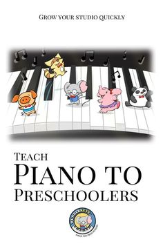 WunderKeys is with you every step of the way as you set up a preschool piano program that works within your studio! Free to offer, free advertising materials and a free webpage www.wunderkeys.com #preschool #piano