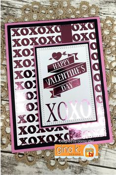 Gina K. Designs: Share the Love with Foil-Mates™ Blog Hop