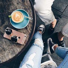 Coffee dates. #coffeenclothes #☕️ @jessie_khoo