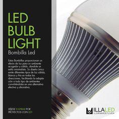 Descripción de la Bombilla Led / Led Bulb Light - ILLA LED