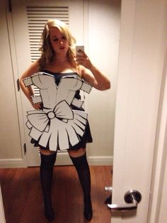 My foam board paper doll (Attached by wire to my belt) Costumes, Halloween, 2d, Wire, Doll, Black, Paper, Dresses, Fashion