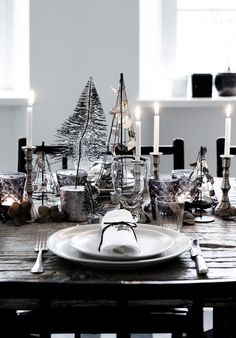 Advent table (Tine K Home)