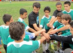As a child, Mark Kabban felt alienated when his family moved to the United States from Lebanon. But sports helped him fit in. Today, his YALLA program provides free tutoring and soccer training to 200 young refugees in the San Diego area.