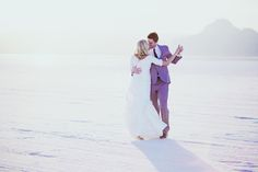 Utah Salt Flats Wedding Photography // katieboink.com