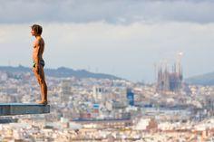 Una piscina olímpica en las alturas, Barcelona