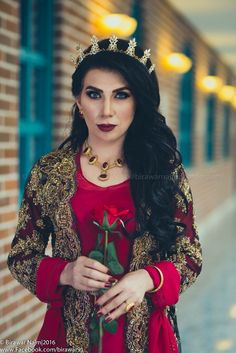 Kurdish girl in Kurdish clothes ❤️ Pinterest: @kvrdistan