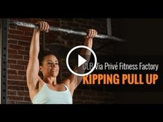 In this episode of the CLB Via Privé Fitness Factory, Camille Leblanc-Bazinet shows you how to master the Butterfly Kipping Pullup.