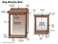 diy twin murphy bed. How To Make A Dog Murphy Bed For Home Or RV Diy Twin I