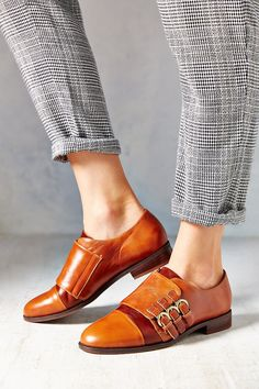 Jeffrey Campbell Ogden Triple Strap Oxford - Urban Outfitters