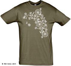 Männer Geschenke - Fahrrad T-Shirt - Bär-leena