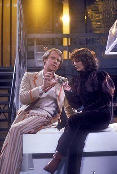 The Doctor & Nyssa:  a very smart TARDIS team