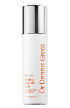 Free shipping and returns on Dr. Dennis Gross Skincare Firming Peptide Milk at Nordstrom.com. This bifunctional treatment by Dr. Dennis Gross Skincare nourishes thirsty skin while triggering a firmer-looking complexion. The lightweight, moisturizing formula helps firm and tighten the skin for an immediate contoured and lifted appearance and contains a state-of-the-art firming complex that includes tetrapeptide-21, collagen, amino acids and ceramides. Moisture-bending humectants are combined…