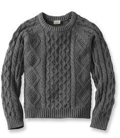 Cotton Fisherman Sweater | L.L.Bean