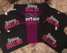 Birthday Girl Shirts Squad Shirt Friend