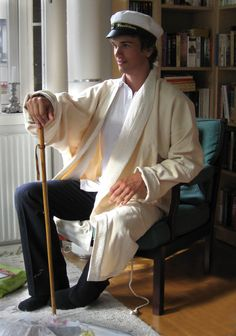 Christian's dressing gown.      Design: ANN HULT