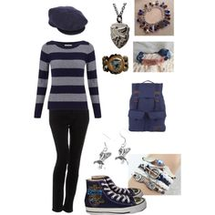 """Ravenclaw"" by ariom on Polyvore"