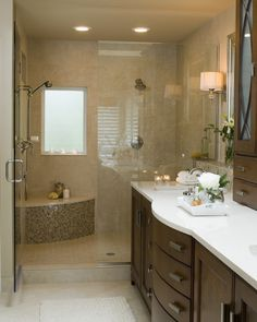 Traditional Bathroom Showers With Windows Design, Pictures, Remodel, Decor and Ideas - page 3