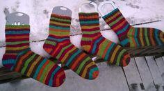 Lankaterapiaa: Vuoden ekat sukat - First socks of the year