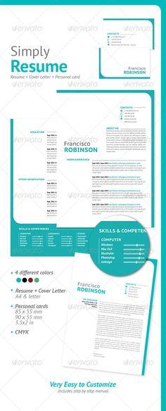 Represent CV\/Resume Template Cv resume template, Print templates - size font for resume