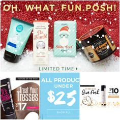 This the season. Give posh. Great products. Natural based. No harsh chemicals. Visit perfectlyposh.com/gwright