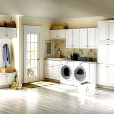 Like the color scheme for thr bedroom - laundry-room-cabinets-ikea-rooms-traditional-small-simple-white-set-with-french-door-plus-flax-wall-paint-color-background.jpg (961×961)