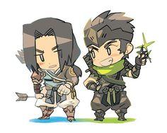 Hanzo and Genji