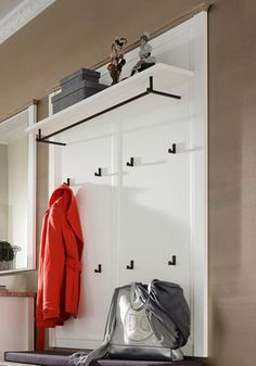 Garderobenpaneel auf pinterest wandpaneele garderoben for Garderobenpaneel schmal