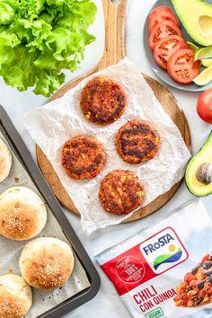 Meksykańskie wege burgery (7 składników)