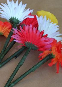 40 Trendy home decored ideas for cheap diy projects dollar stores How To Make Ink, Pen Toppers, Flower Pens, Back To School Crafts, Cactus, Deco Table, Flower Crafts, Teacher Gifts, Diy Gifts